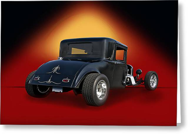 1930 Hudson Hot Road Coupe IIi Greeting Card by Dave Koontz