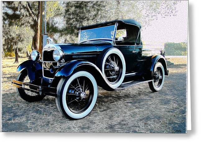 1930 Ford Model A Truck Greeting Card