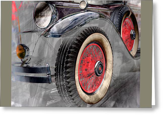 1930 Packard Greeting Card