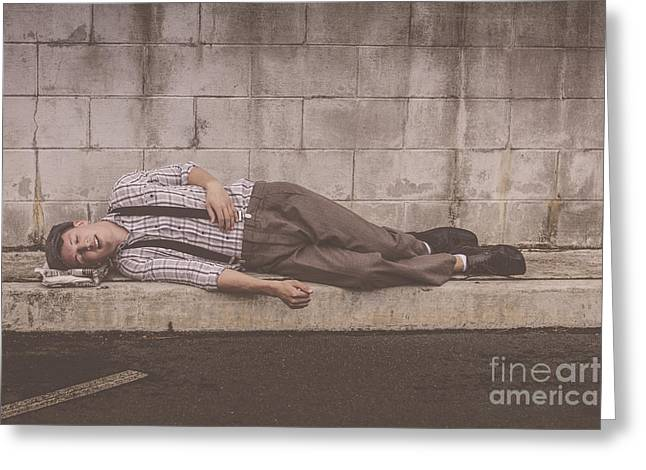1930s The Great Depression  Greeting Card by Jorgo Photography - Wall Art Gallery