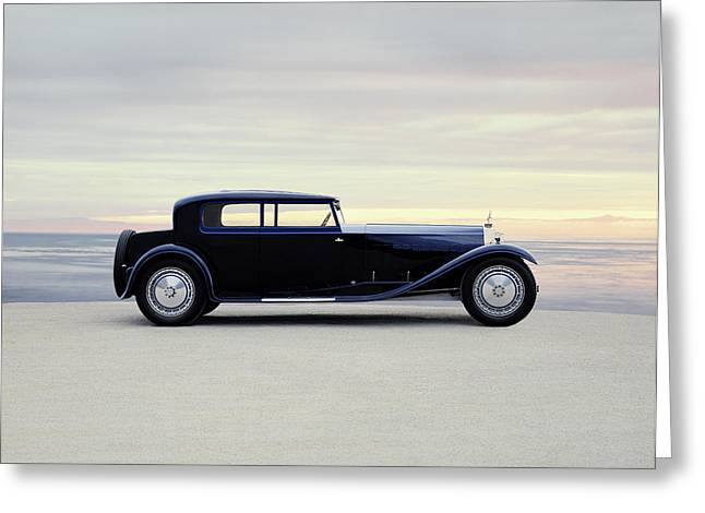 1931 Bugatti Type 41 Royale Coupe Greeting Card