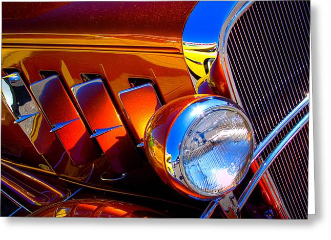 1932 Chevy Coupe Greeting Card by David Patterson