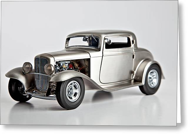 1932 Ford 3 Window Coupe Greeting Card by Gianfranco Weiss