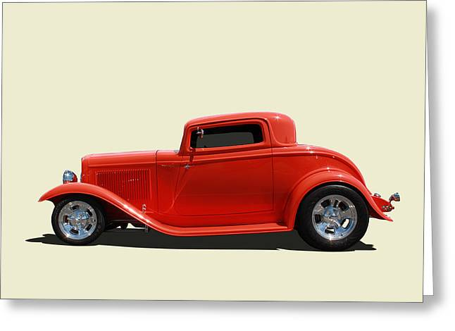 Greeting Card featuring the photograph 1932 Ford 3 Window Coupe by Keith Hawley
