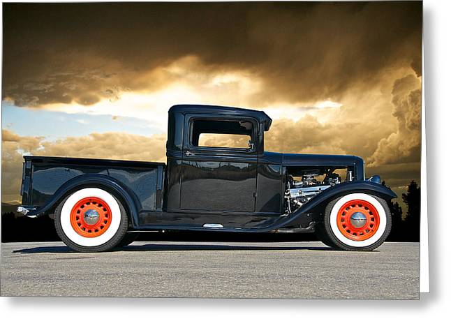 1932 Ford Pick Up Iv Greeting Card by Dave Koontz