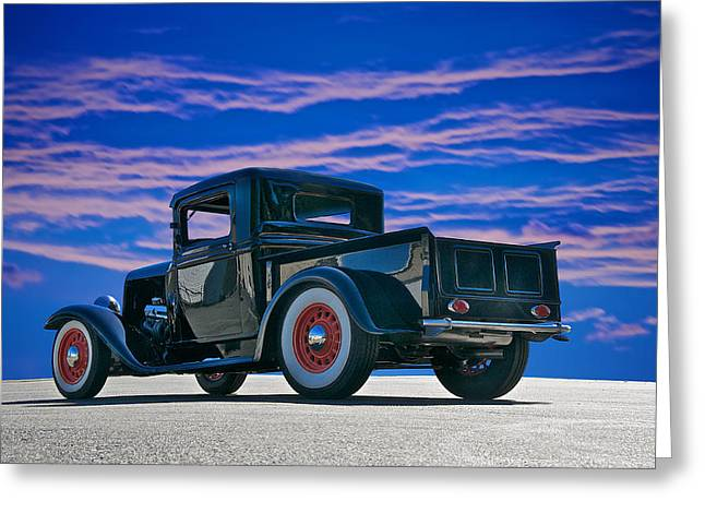 1932 Ford Pick Up V Greeting Card by Dave Koontz