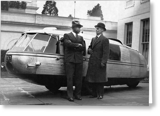 1933 Dymaxion Car Greeting Card