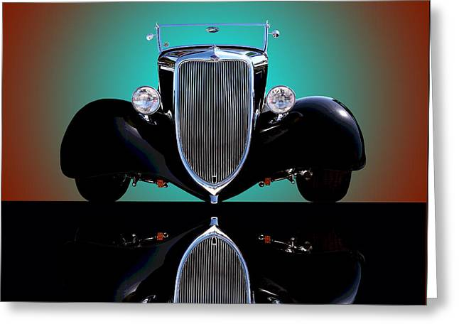 1934 Ford Phaeton Convertible Greeting Card