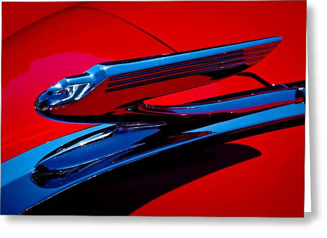 1936 Chevy Coupe Greeting Card by David Patterson