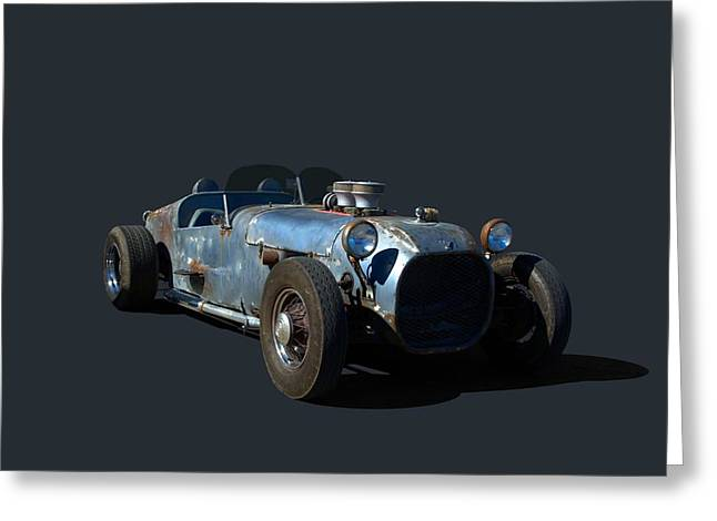 Greeting Card featuring the photograph 1936 Ford Speedster by Tim McCullough