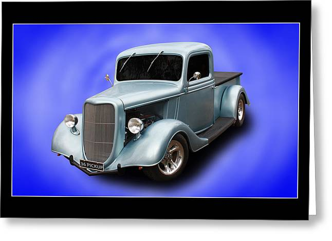 Greeting Card featuring the photograph 1936 Pickup by Keith Hawley