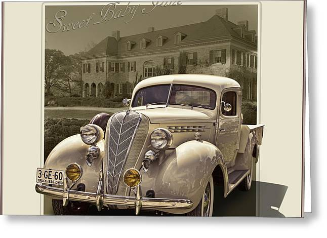 1936 Terraplane Express Cab Truck  Greeting Card