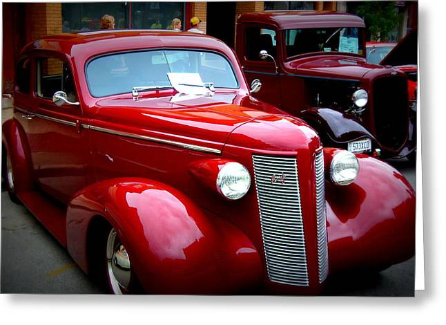 1937 Buick 8 Greeting Card by Willy  Nelson