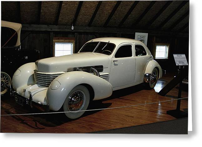 1937 Cord 812 Westchester Greeting Card