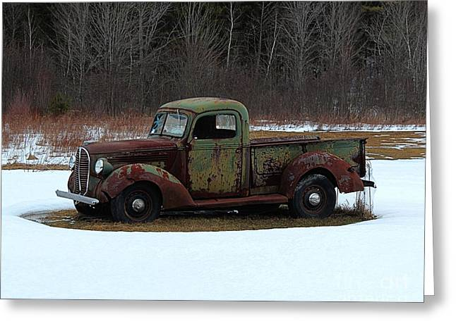 1938-39 Ford Pickup Greeting Card by Joseph Marquis