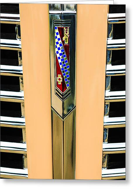 1938 Buick Coupe Grille Emblem Greeting Card
