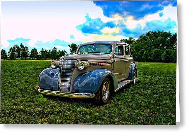 1938 Chevrolet 4 Door Sedan Greeting Card by Tim McCullough
