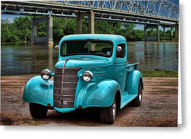 1938 Chevrolet Pickup Truck Greeting Card by Tim McCullough