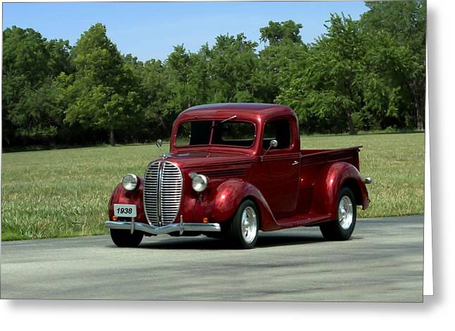 1938 Ford Truck >> 1938 Ford Pickup Hot Rod