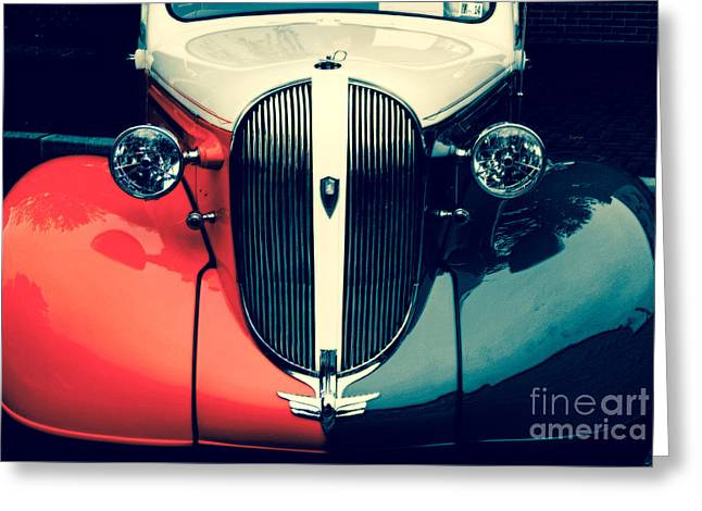 1938 Plymouth Deluxe  Greeting Card by Steven Digman