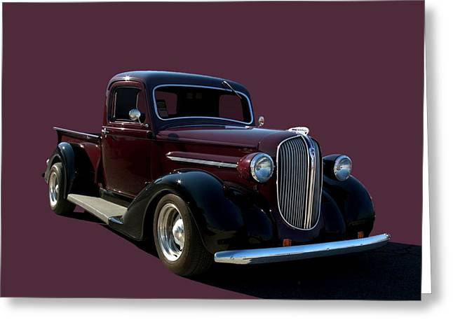 1938 Plymouth Hot Rod Pickup Truck Greeting Card by Tim McCullough