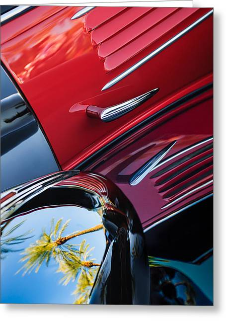 1939 Bugatti T57c Galibier Greeting Card by Jill Reger