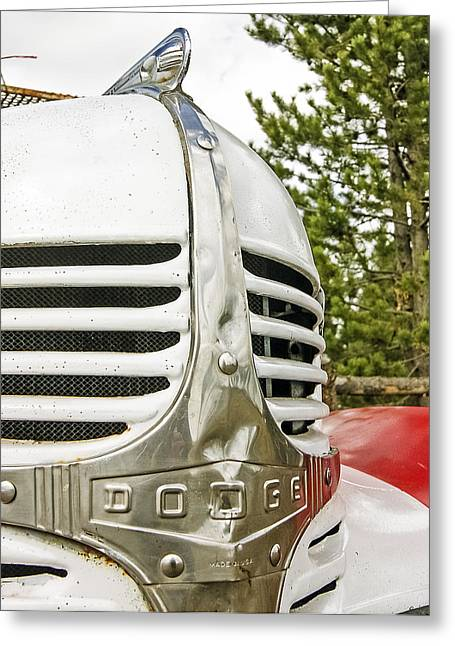 1939 Dodge Truck Grill Greeting Card