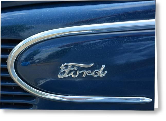 1939 Ford Emblem Greeting Card