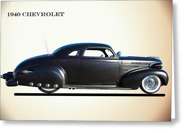 1940 Chevrolet Customized Greeting Card
