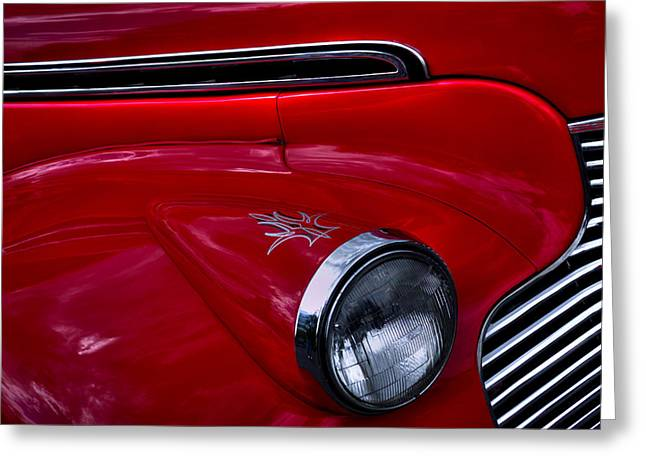 1940 Chevy Coupe Greeting Card by David Patterson