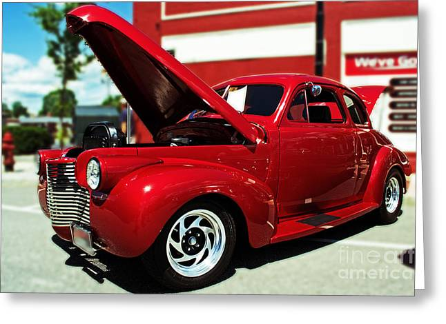 1940 Chevy Greeting Card by Kevin Fortier