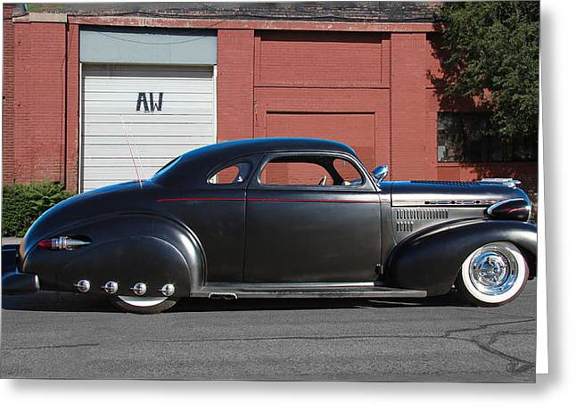 1940 Customized Chevrolet Greeting Card