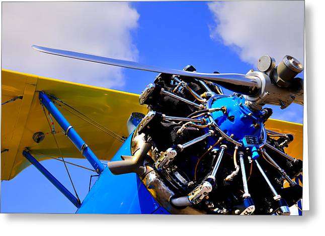 1940 Stearman Pt-18 Kadet Greeting Card