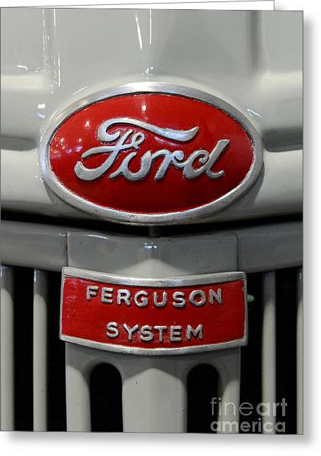 1941 Ford Tractor Ferguson System Greeting Card by Paul Ward
