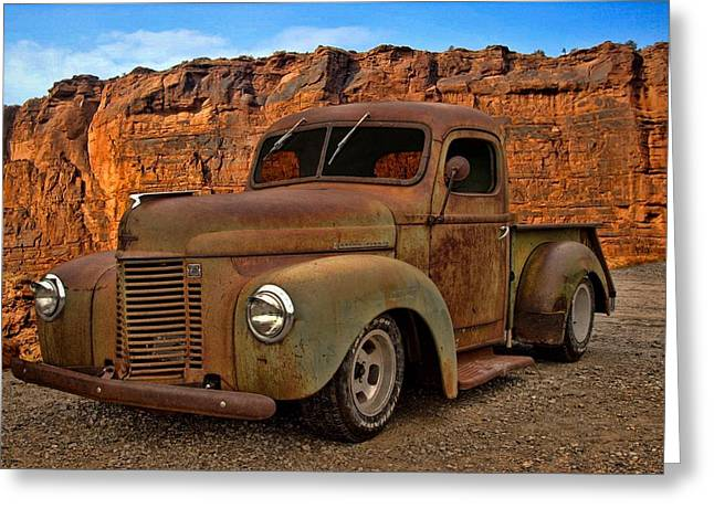 1941 International Pickup Greeting Card by Tim McCullough