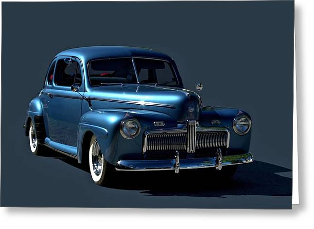 Greeting Card featuring the photograph 1942 Ford Coupe by Tim McCullough