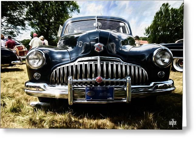 1946 Buick Estate Wagon Greeting Card