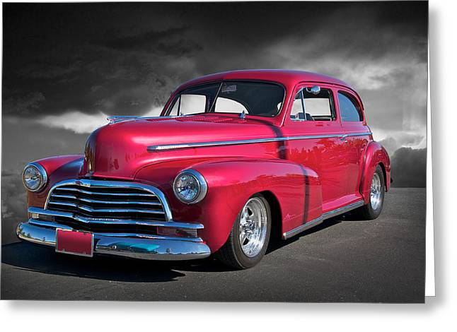 1946 Chevrolet Sedan  Greeting Card by Dave Koontz