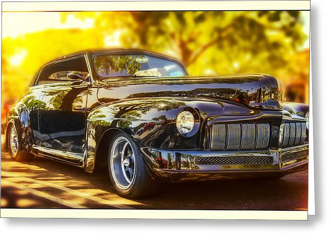 1946 Mercury Convertible Greeting Card by Steve Benefiel