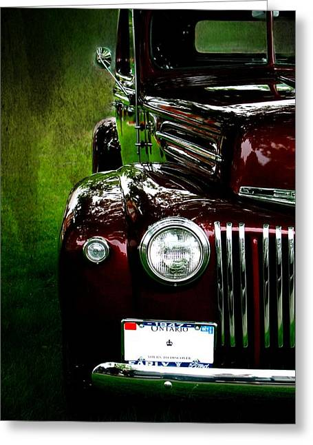 1947 Ford Greeting Card by Amanda Struz