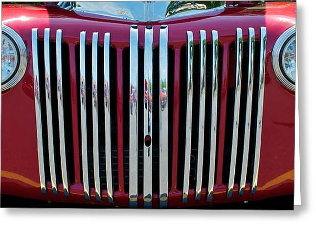 1947 Ford Truck Grill Greeting Card by Mark Dodd