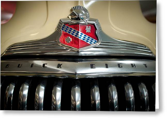 1948 Buick Roadmaster Greeting Card by Sebastian Musial