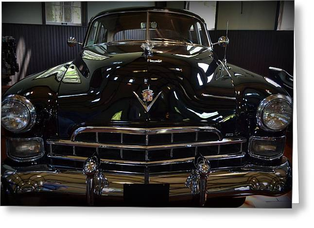 1948 Cadillac Front Greeting Card by Michelle Calkins