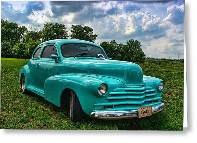 1948 Chevrolet Coupe Greeting Card by Tim McCullough