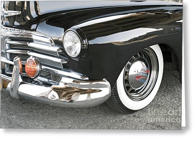 1948 Chevrolet Fleetmaster Antique Classic Greeting Card by David Zanzinger