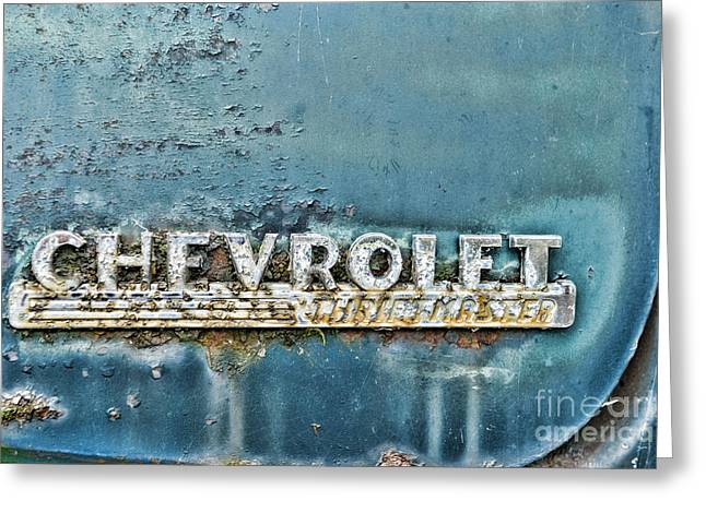 1948 Chevrolet Thrift Master Greeting Card by Paul Ward