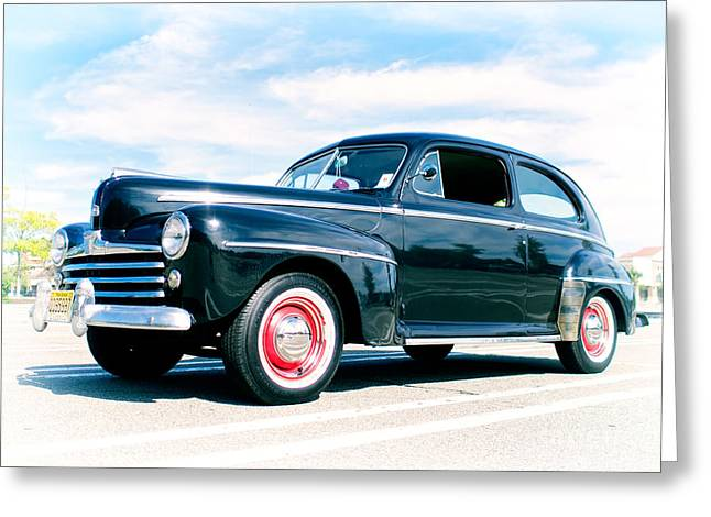 1948 Ford 2 Door Sedan Greeting Card by Mark Miller