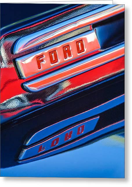 1948 Ford F-1 Pickup Truck Greeting Card