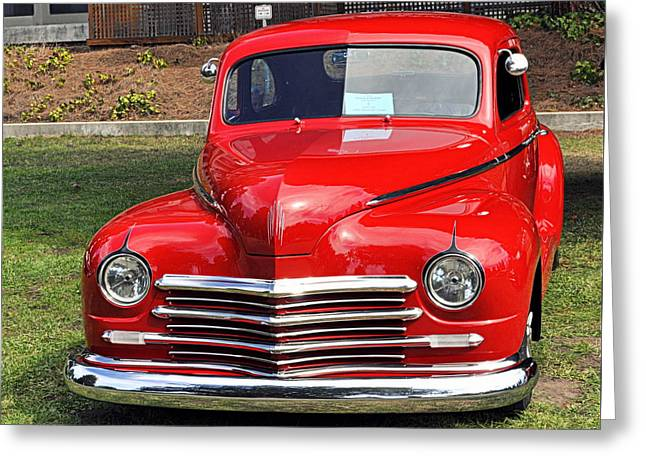 1948 Plymouth Coupe Greeting Card