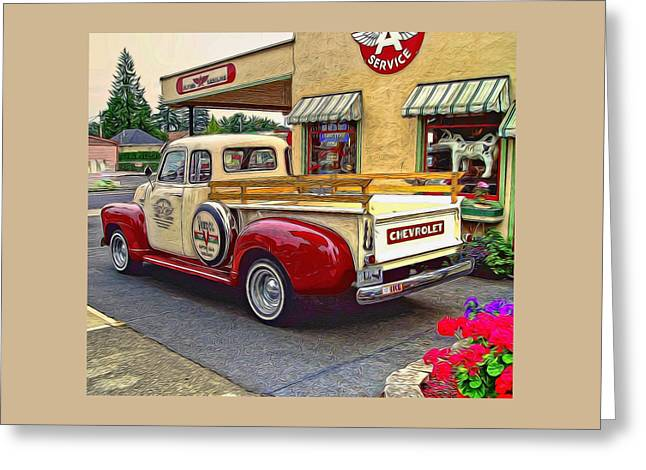 1949 Chevy Truck Greeting Card